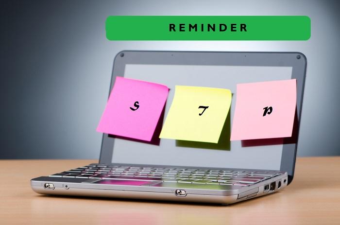 STP employer reminder